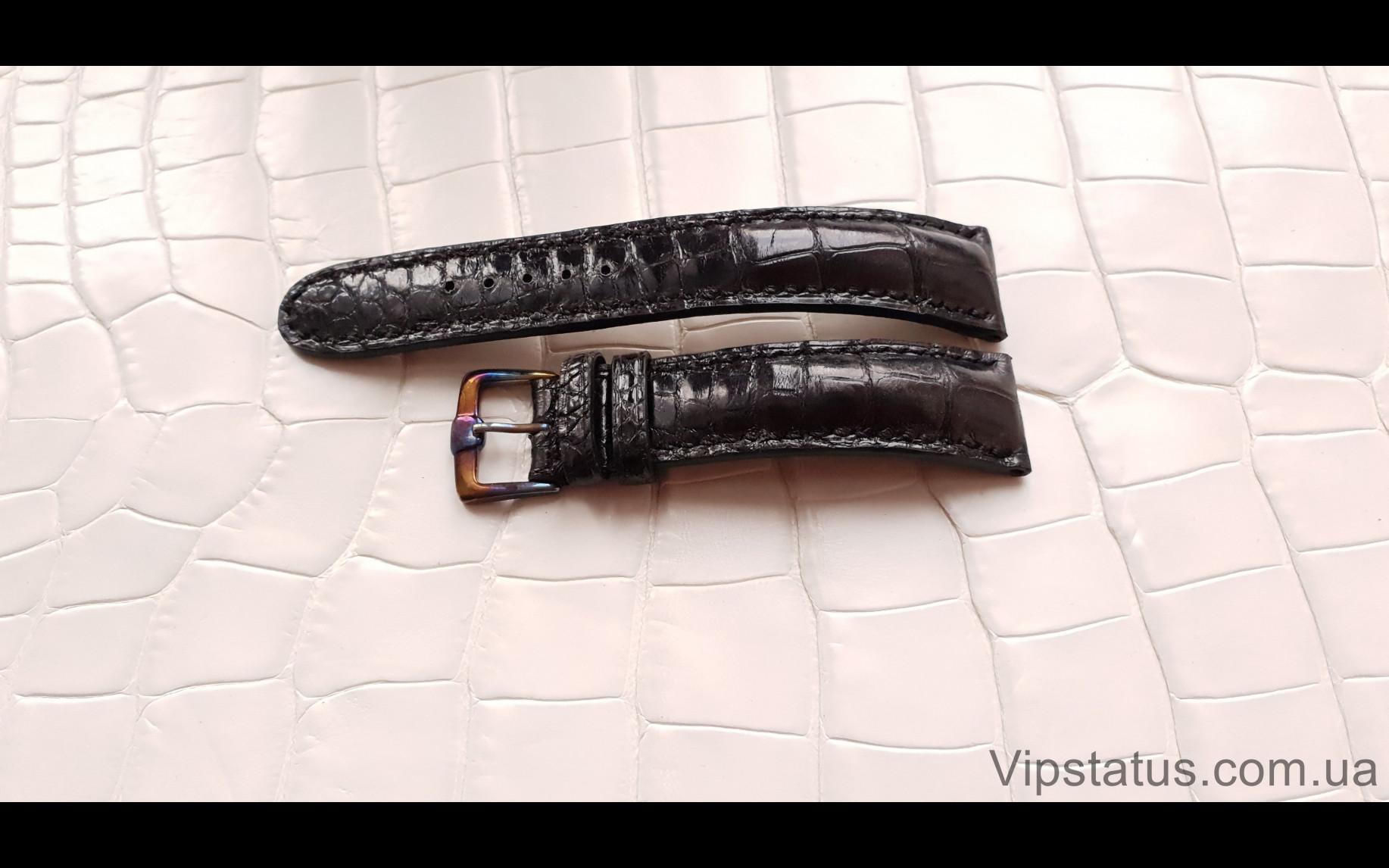 Elite Элитный ремешок для часов Montblanc кожа крокодила Elite Crocodile Strap for Montblanc watches image 3