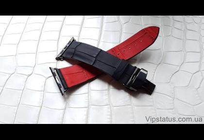 Премиум ремешок для часов Montblanc кожа крокодила изображение