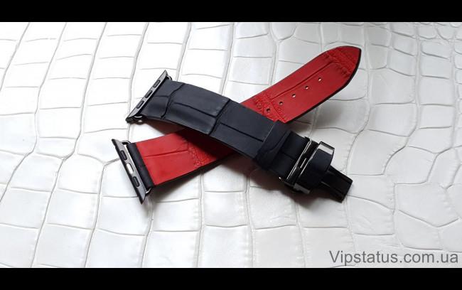 Elite Премиум ремешок для часов Montblanc кожа крокодила Premium Crocodile Strap for Montblanc watches image 1