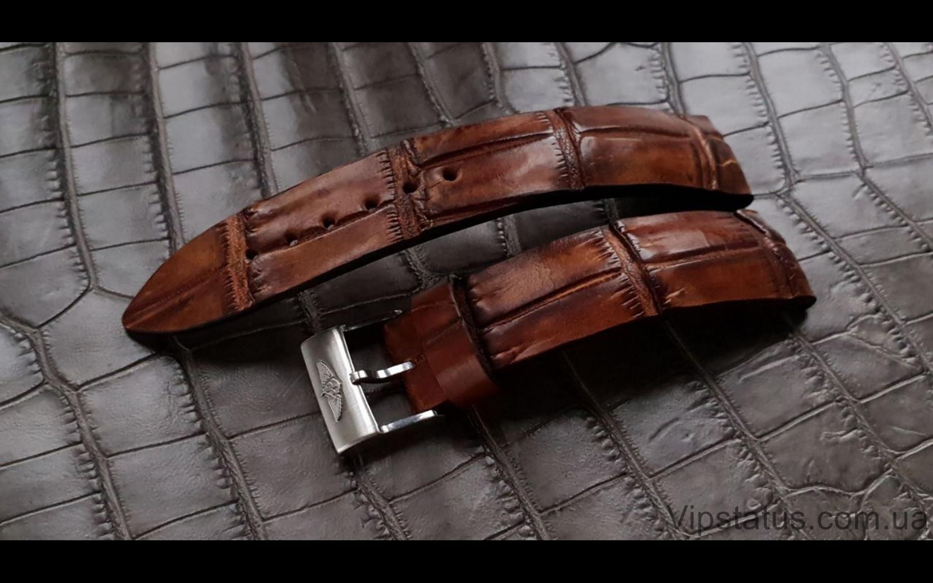 Elite Эксклюзивный ремешок для часов Raymond Weil кожа крокодила Exclusive Crocodile Strap for Raymond Weil watches image 2