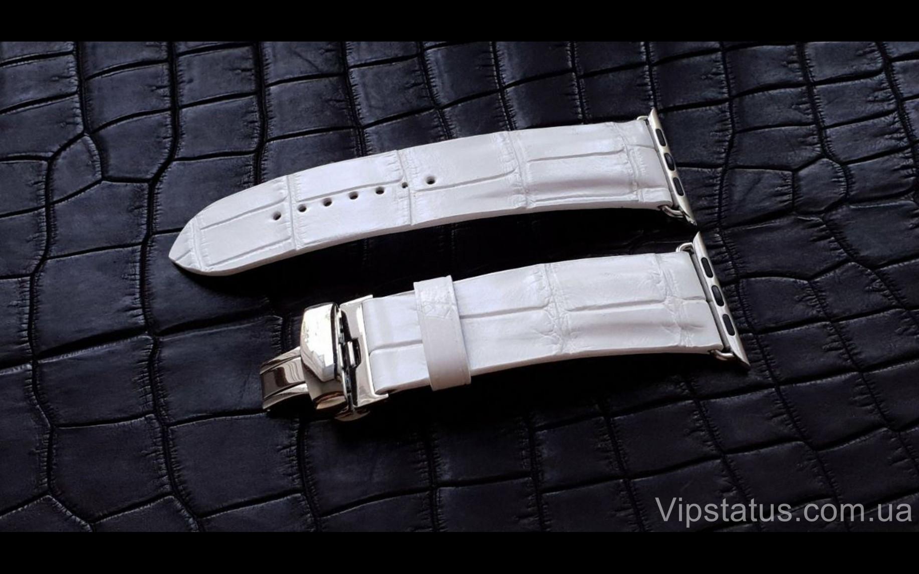 Elite Элитный ремешок для часов Romain Jerome кожа крокодила Elite Crocodile Strap for Romain Jerome watches image 1