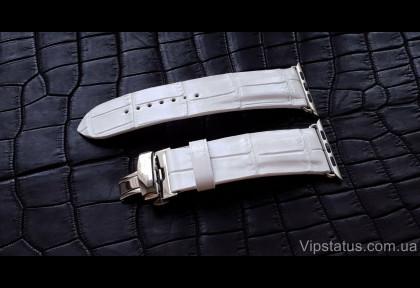 Элитный ремешок для часов Romain Jerome кожа крокодила изображение