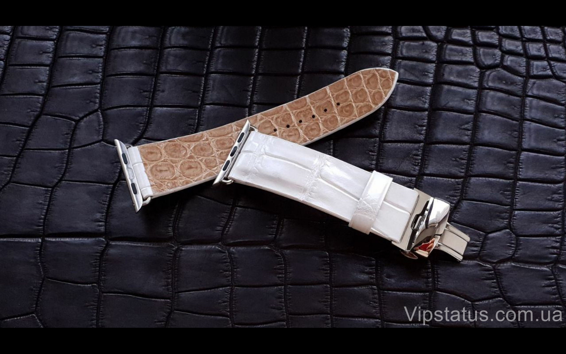 Elite Элитный ремешок для часов Romain Jerome кожа крокодила Elite Crocodile Strap for Romain Jerome watches image 2