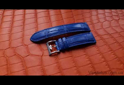 Вип ремешок для часов Royal Blue кожа крокодила изображение