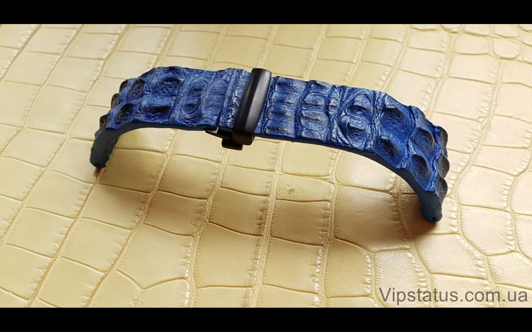 Elite Брутальный ремешок для часов TAG Heuer кожа крокодила Brutal Crocodile Strap for TAG Heuer watches image 1