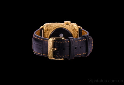 Black Crocodile Strap image