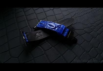 Blue King Элитный ремешок кожа крокодила изображение