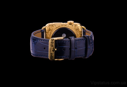 Royal Blue Crocodile Strap image