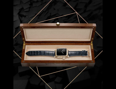 Gold case for Apple Watch