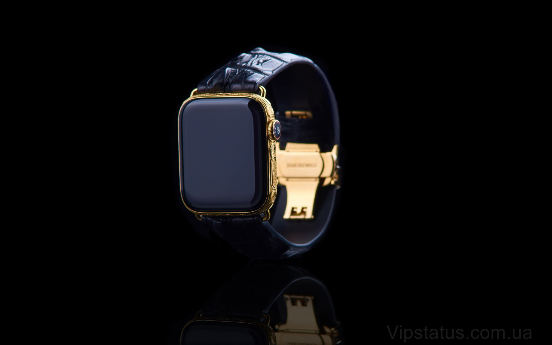 Элитный Skull 666 Gold Apple Watch 5 Skull 666 Gold Apple Watch 5 Sapphire изображение 1