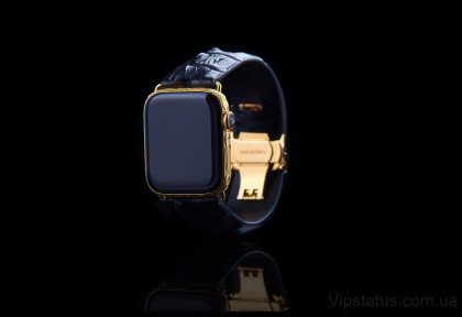 Skull 666 Gold Apple Watch 5 изображение