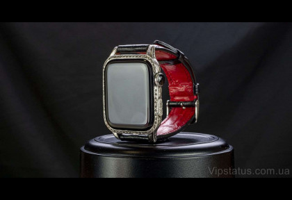 White Gold Aristocrate Apple Watch 7 image
