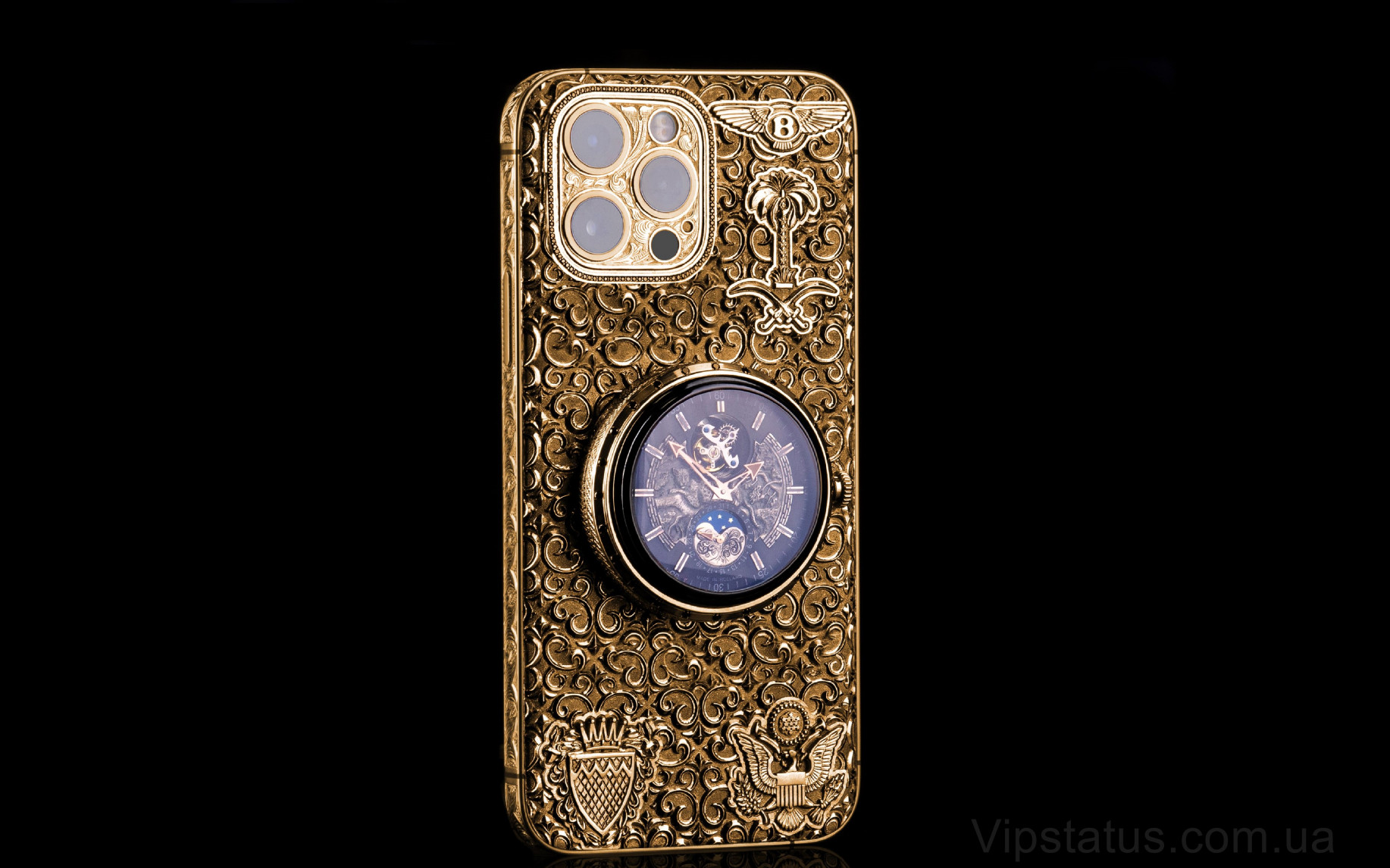 Elite Golden Ring of Time IPHONE 12 PRO MAX 512 GB Golden Ring of Time IPHONE 12 PRO MAX 512 GB image 1