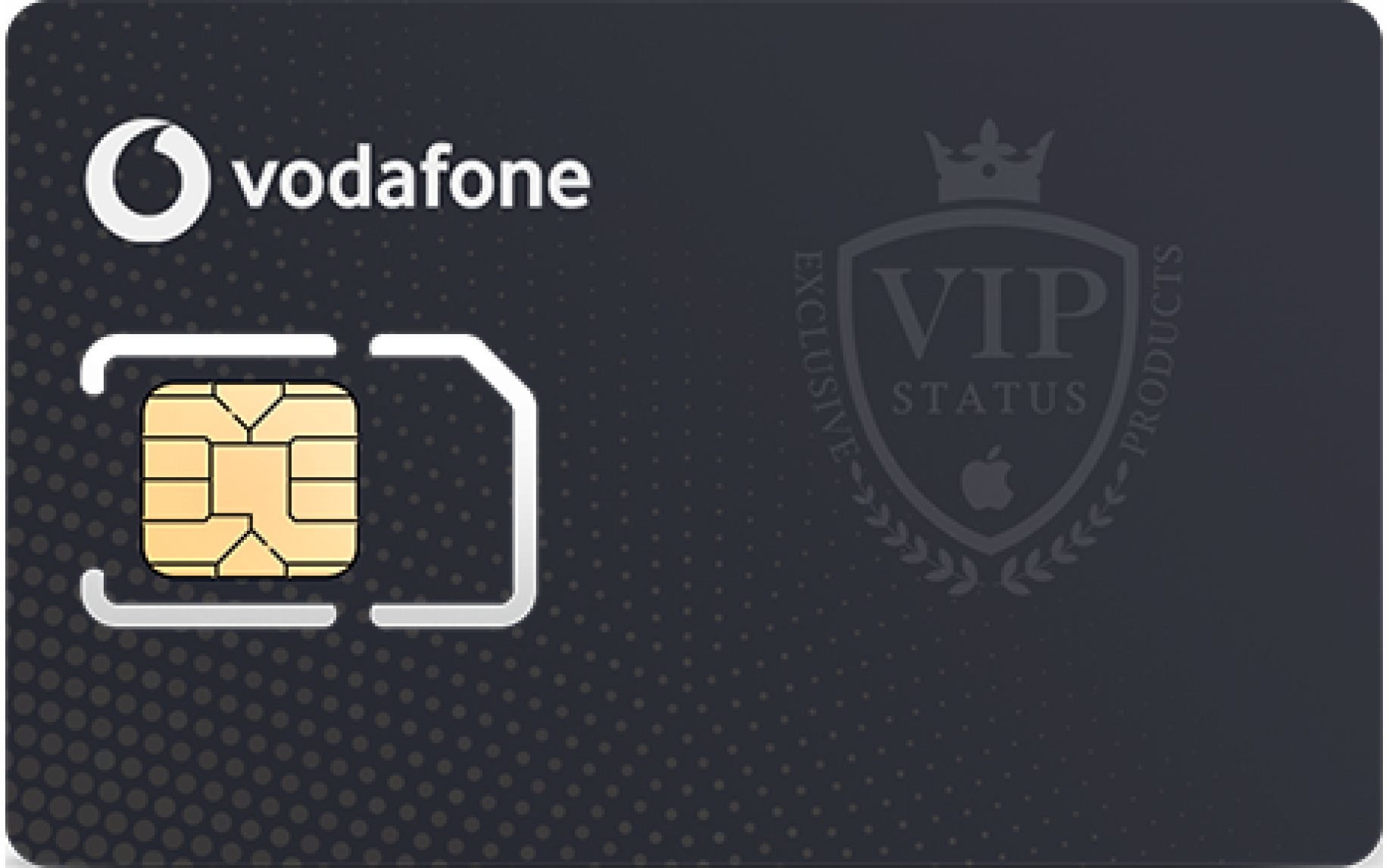 Exclusive Vodafone phone number: +380X64444999 image 1